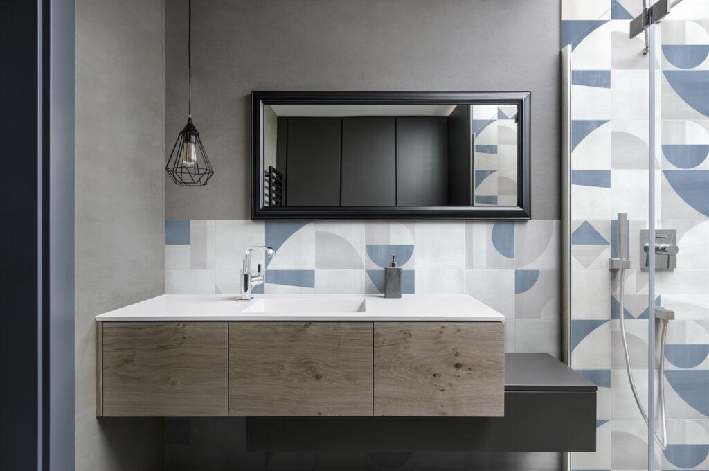 Gris Clair Bathroom Popline Ceramiche Frassinoro